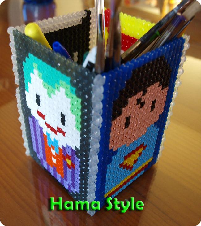 Trabajos 3D Hama Style Lapicero_batman_hama3