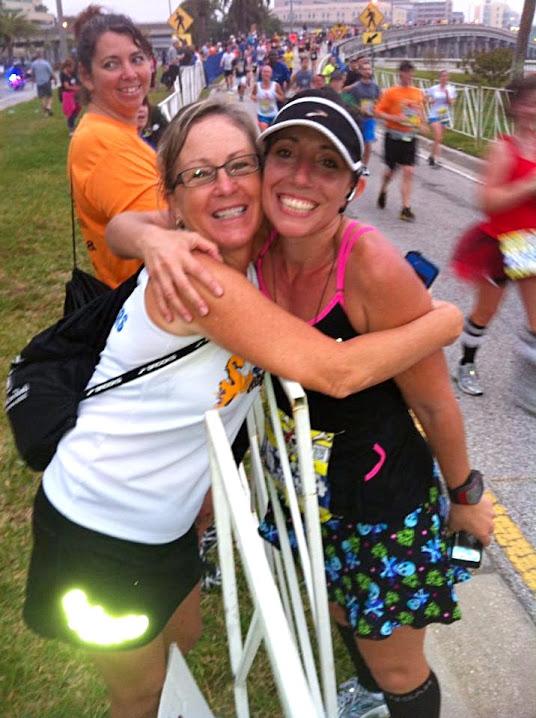 GDC2013 Me+and+Marie Gasparilla Half Marathon 2013 {recap}