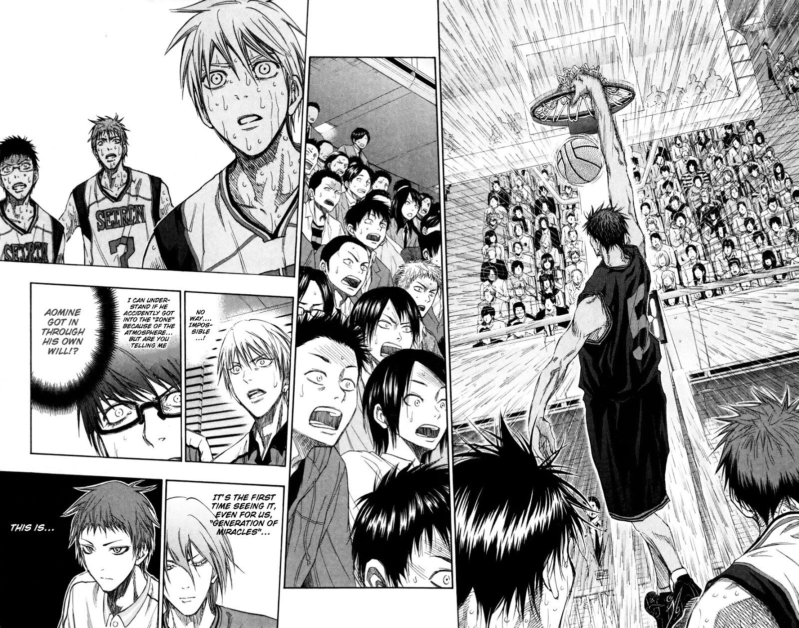 Kuroko no Basket Manga Chapter 134 - Image 04-05