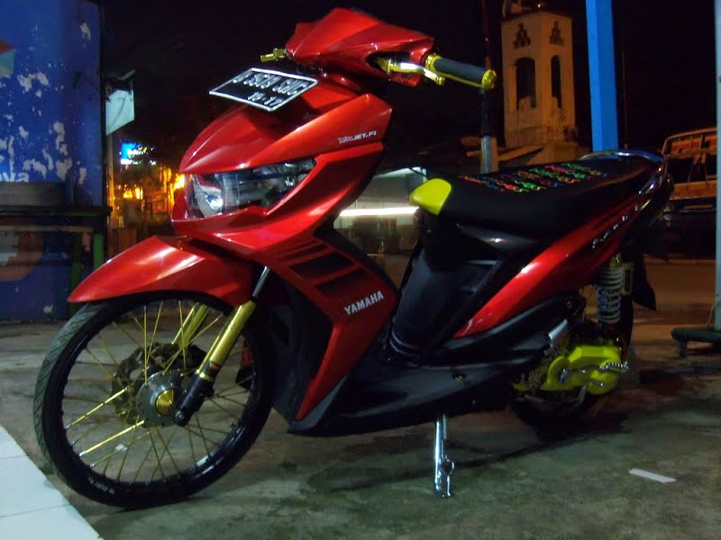 Mio Sporty Modifikasi Velg 17