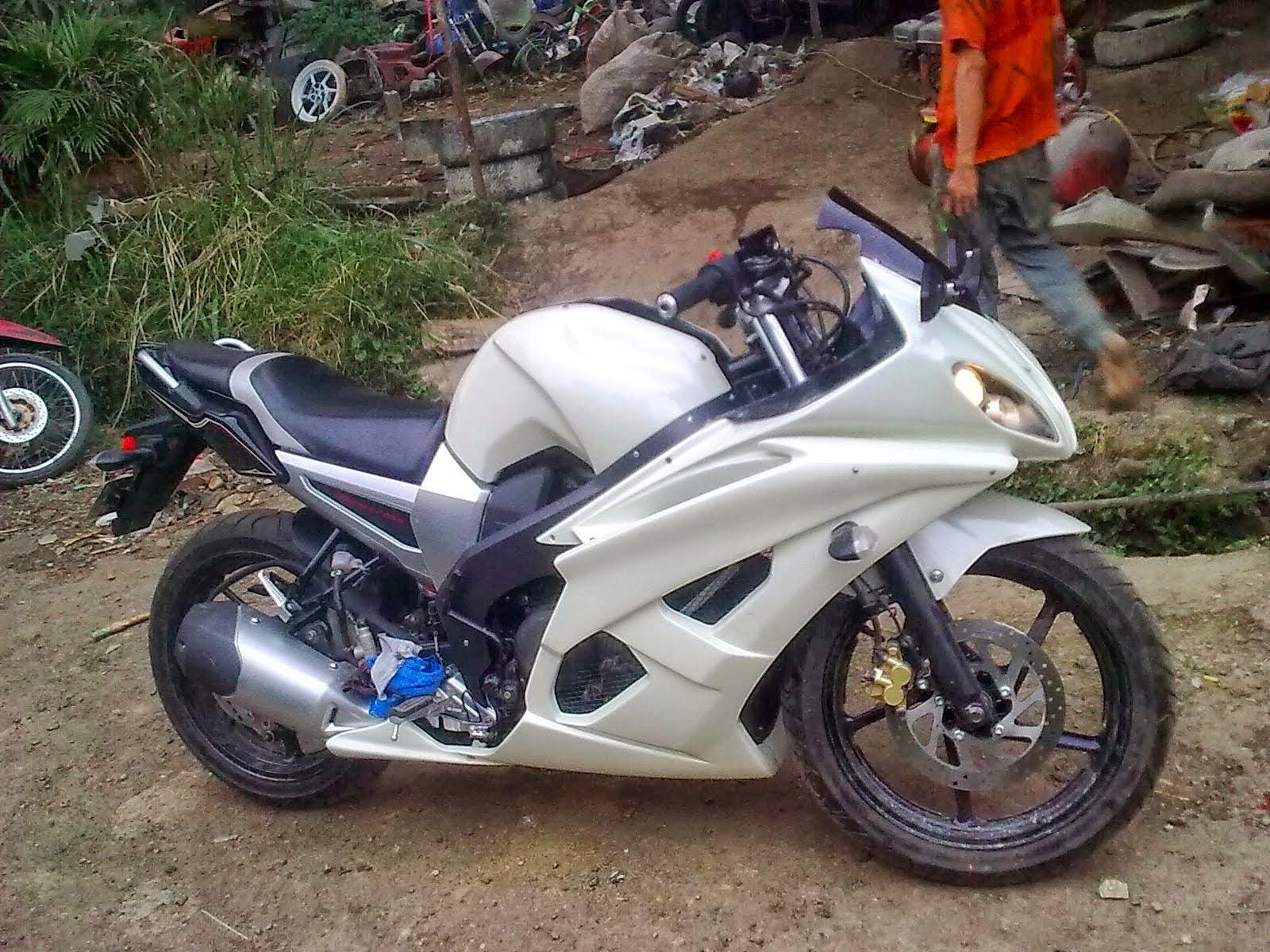 Byson Modifikasi Mirip Ducati
