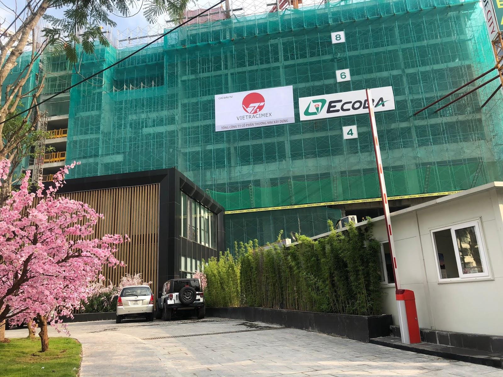 Cập nhật tiến độ toà C Hinode City 201 Minh Khai