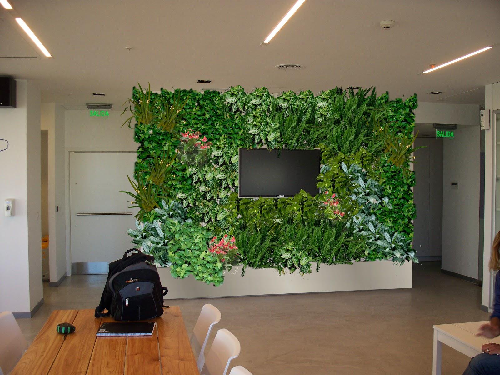 Jardines verticales monterrey dise o de jardines interiores - Diseno de jardines interiores ...