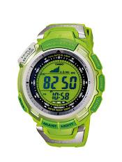 Jam Tangan Pria Analog-Digital Tali Karet  Casio Protrek : PRW-S6100Y-1
