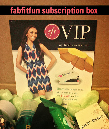 Giuliana Rancic's FabFitFun VIP Subscription Box