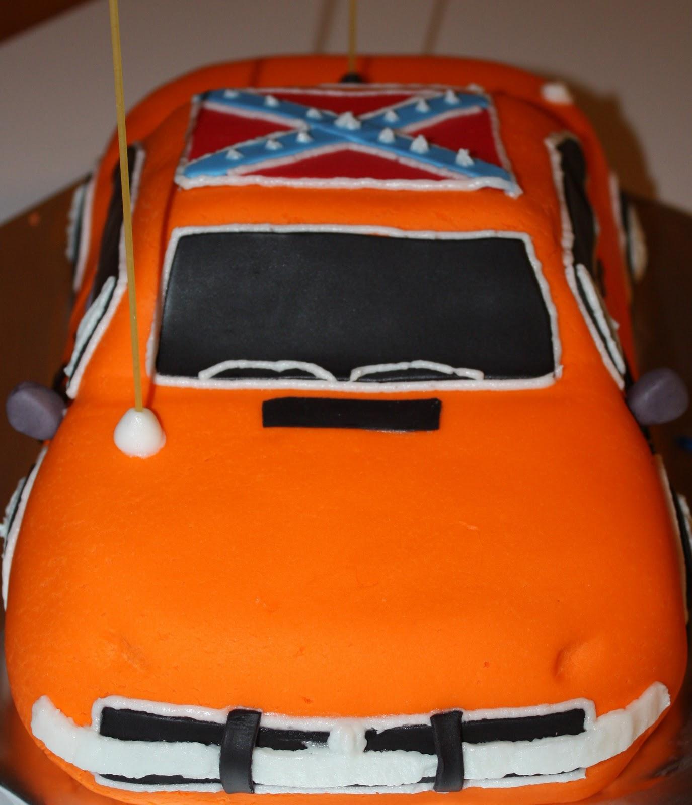 Dukes Of Hazzard Car Cake Pan