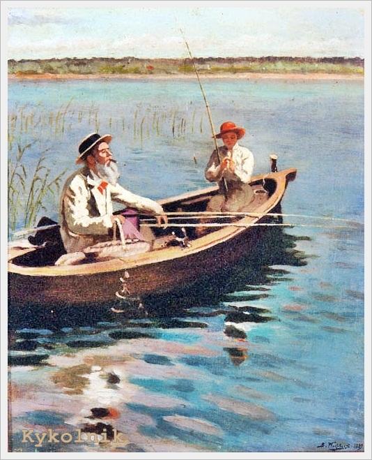 рыбалка в 1924