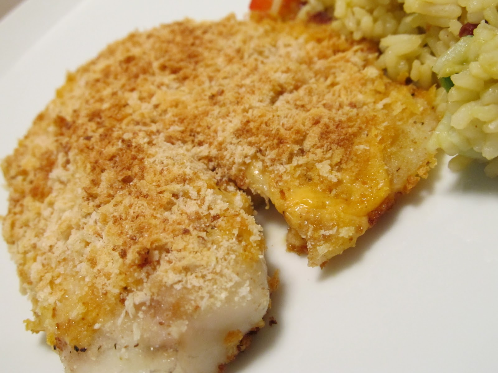 Jenn 39 s food journey baked fish with sour cream parmesan sauce for Baked fish recipe with sauce