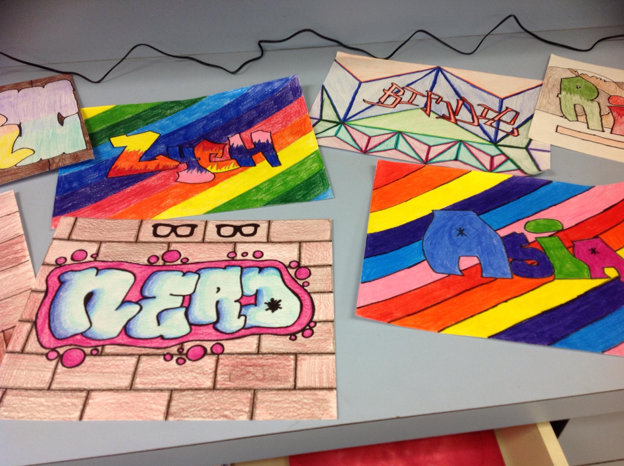 No Hart No Art 8th Grade Graffiti Art