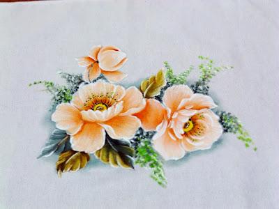 flores papoulas pintadas