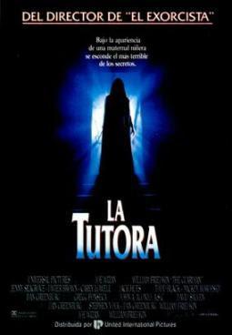Poster de La Tutora  1990
