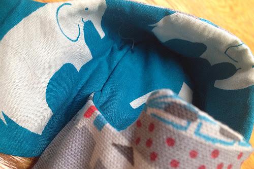 elephant fabric lining