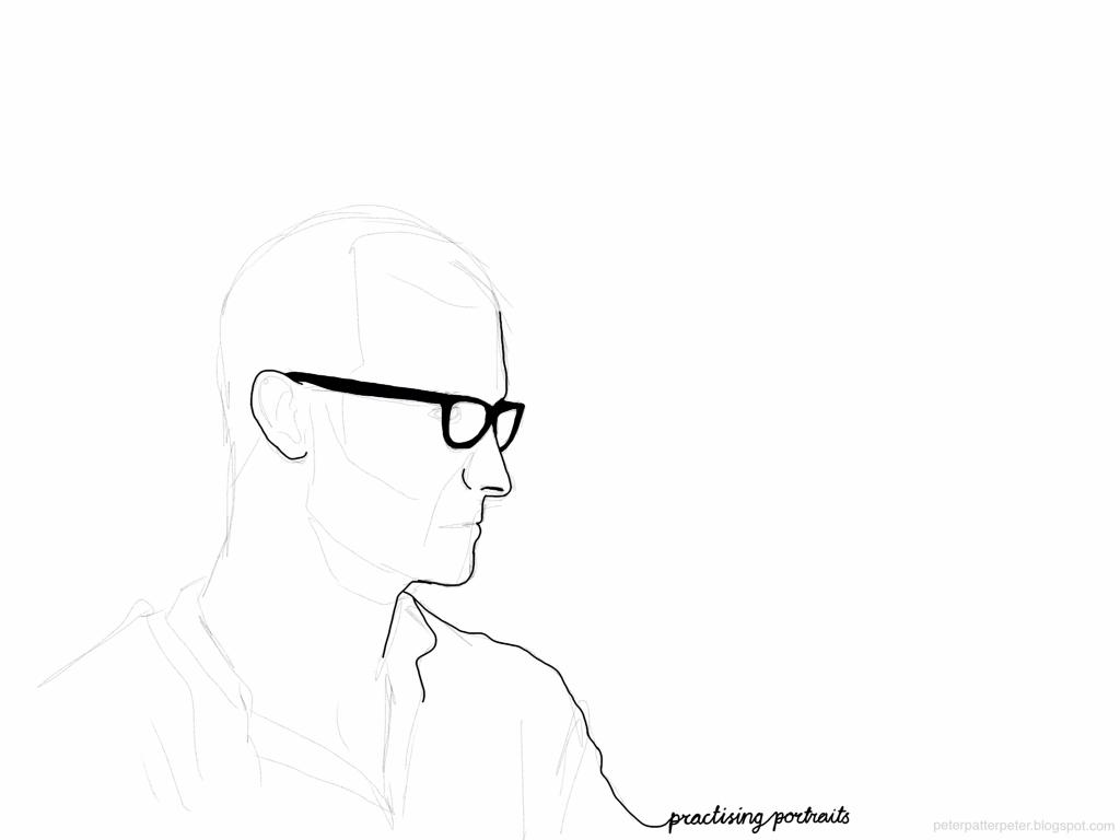 Practising portraits