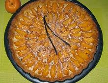 Tarte aux abricots et crème à l'amande