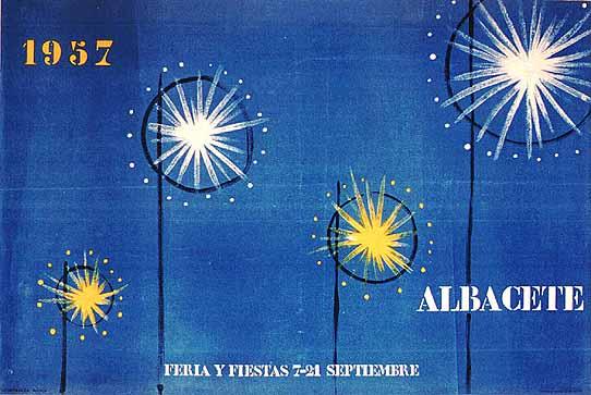 Cartel Feria Albacete 1957