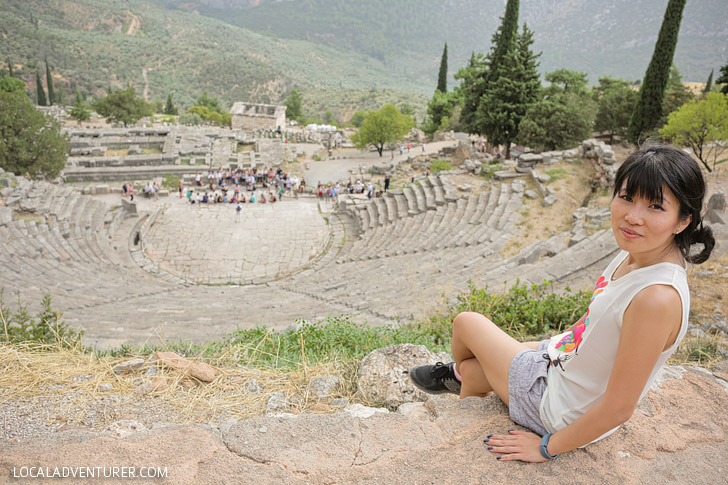 Delphi Greek Theater.