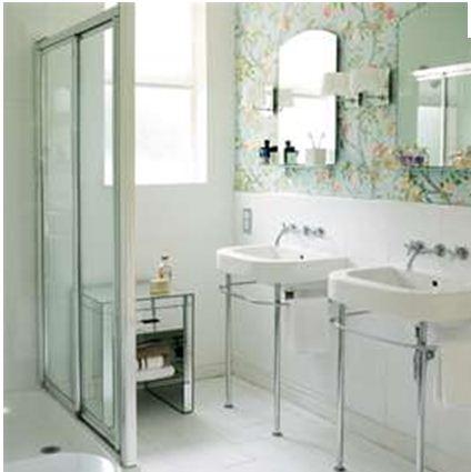 As duvidas e incertezas na hora de revestir uma cozinha for Bathroom wallpaper ideas nz