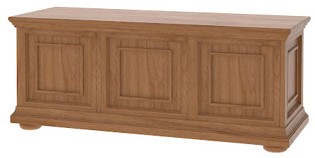 Matching Furniture Piece: Edinburgh Cedar Chest in Modern Cherry