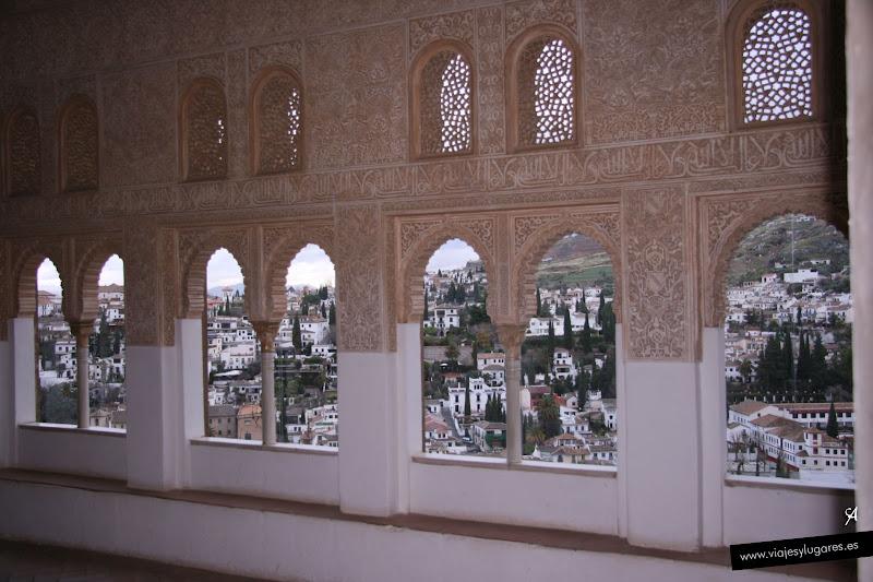 Oratorio del mexuar palacio de comares palacios - Banos arabes palacio de comares ...
