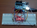 Post image for Arduino 7 Segment 4 Digit LED  Display Tutorial
