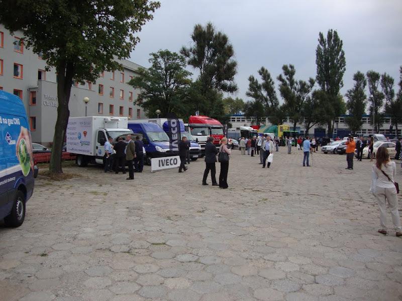 Konferencji Blue Corridor 2012 w Warszawie towarzyszyła największa w historii wystawa pojazdów CNG i LNG