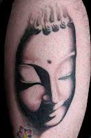 Custom Buddha face. Copyright J Phillips