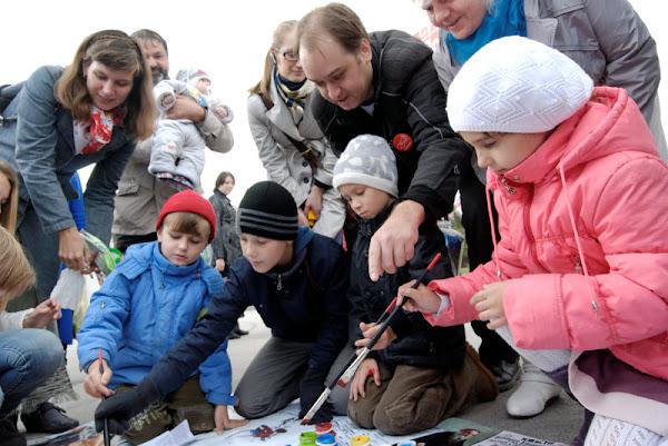 дети рисуют Сверхмодерн