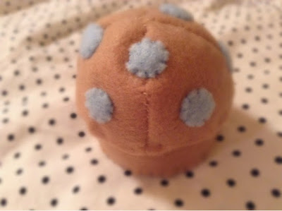 Blueberry Muffin Plushie