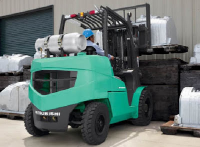 Xe nâng chạy Gas Mitsubishi