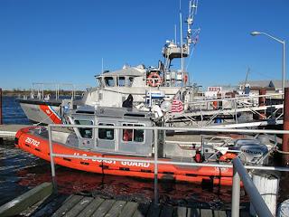 USCG Station Manasquan boats
