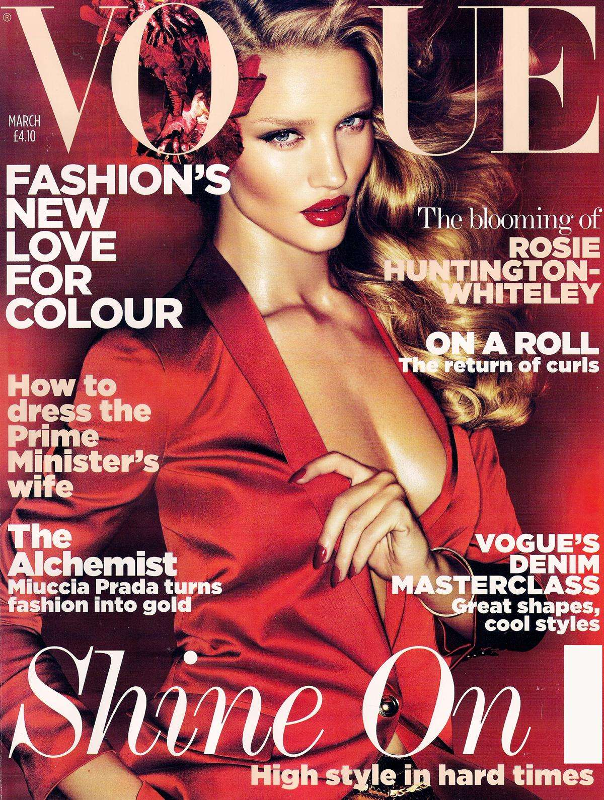 VOGUE UK / Rosie Huntington-Whiteley