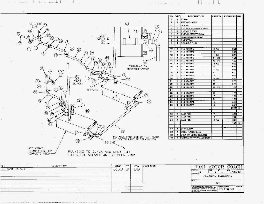 wiring diagrams   1994 fleetwood southwind motorhome parts