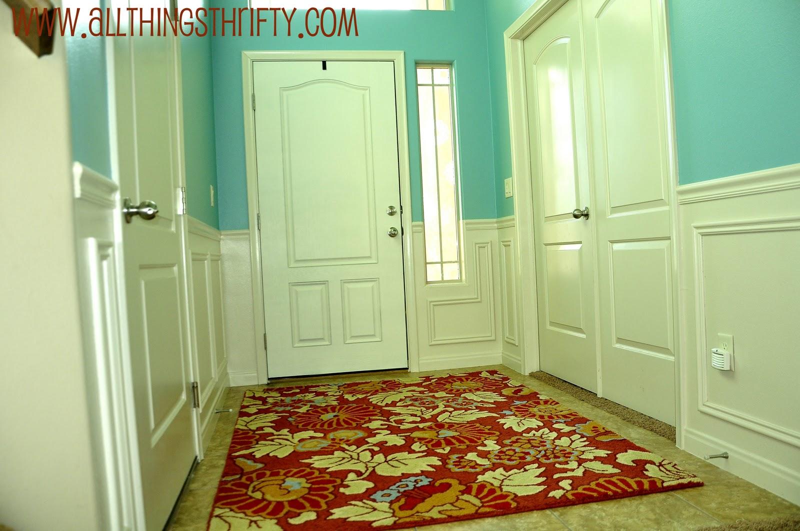 How To Paint Your Fiberglass Door Entryway Makeover Part 3