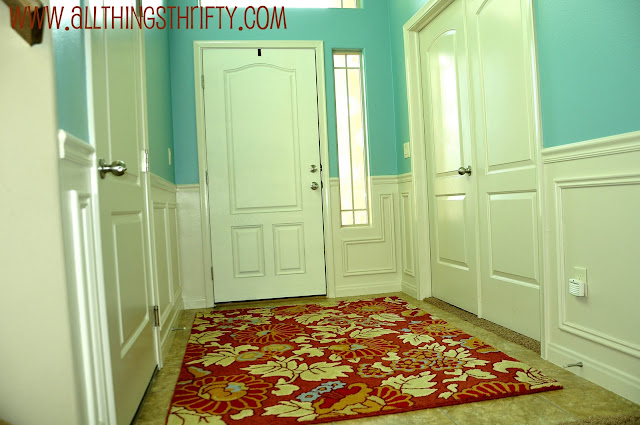 How To Paint Your Fiberglass Door Entryway Makeover Part 3