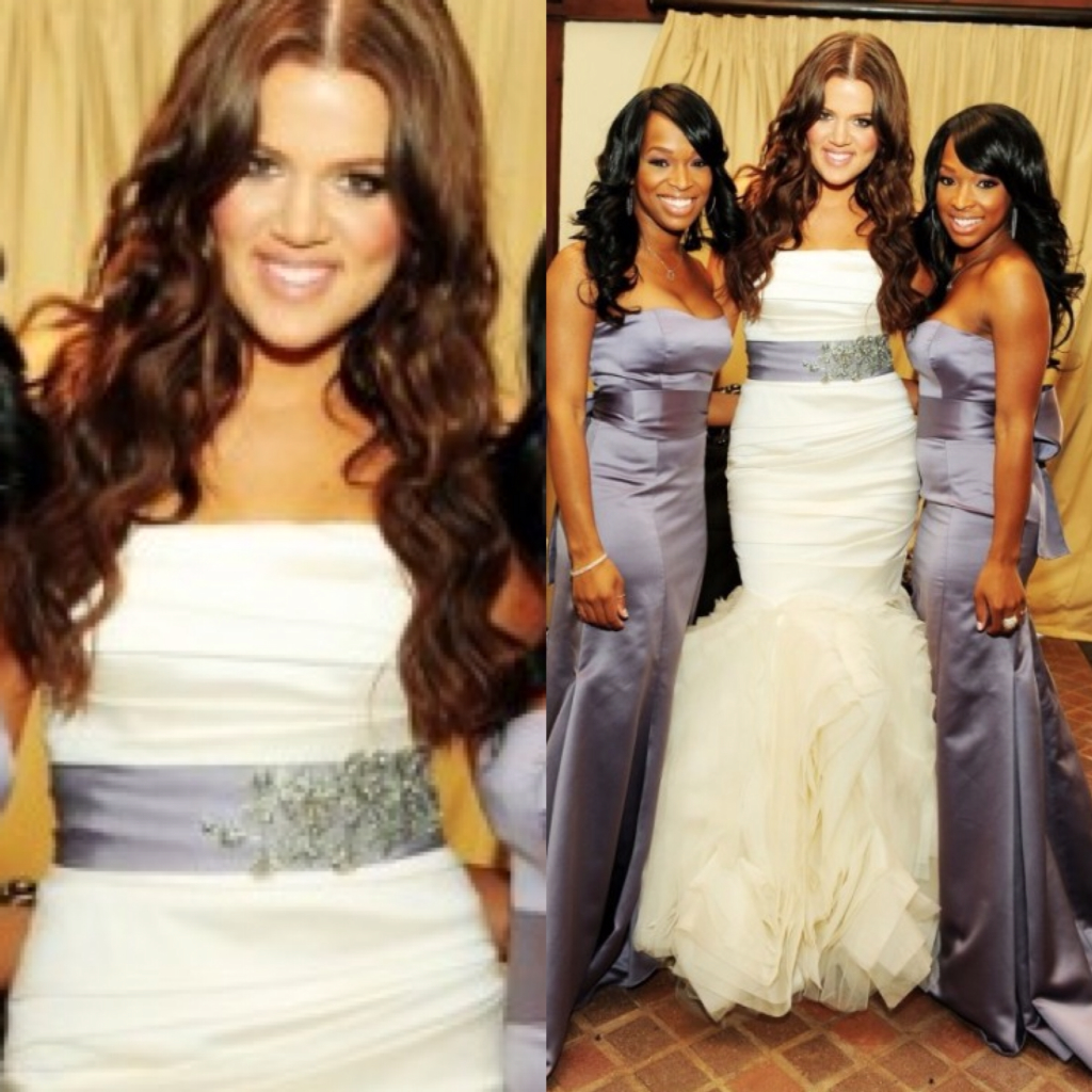 Khloe Kardashian Wedding Gown: Efeford Weddings: Throwback Thursday: Khloe Kardashian Odom