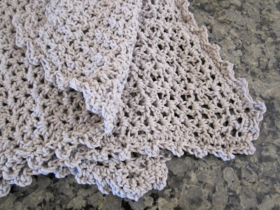 Crochet Blanket Stitch Edging