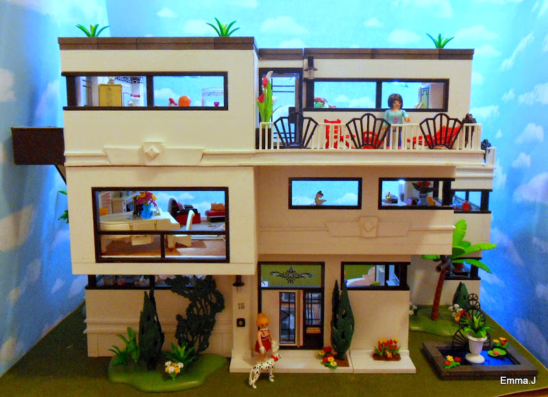 Art deco house 5574 emma j 39 s playmobil for Maison moderne 5574