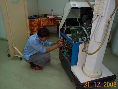 baiki mesin portoble x-ray