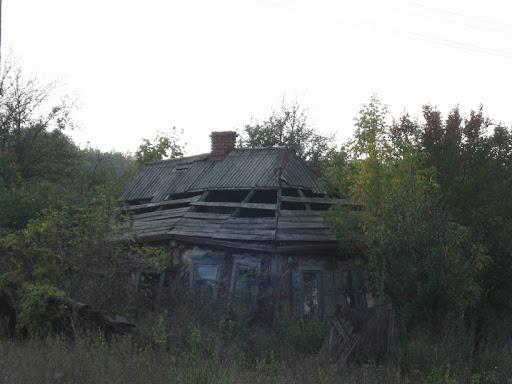 заброшеный дом село Мищенки