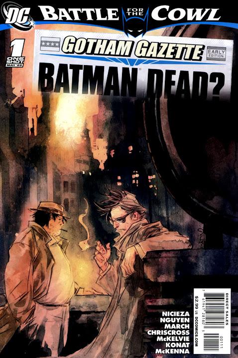 Batman – Batalha pelo Manto