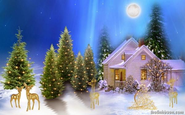 thơ ngắn chúc mừng giáng sinh hay