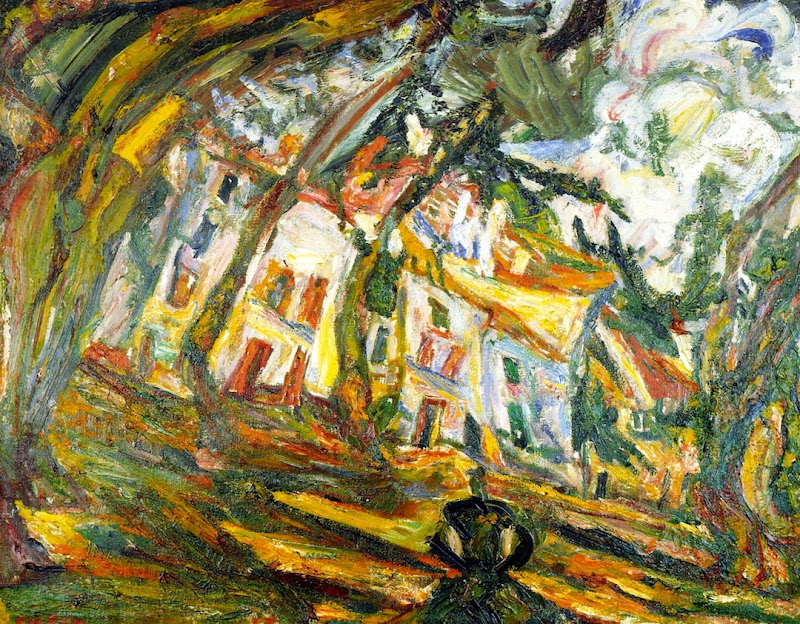 Chaim Soutine - Village Square, Céret