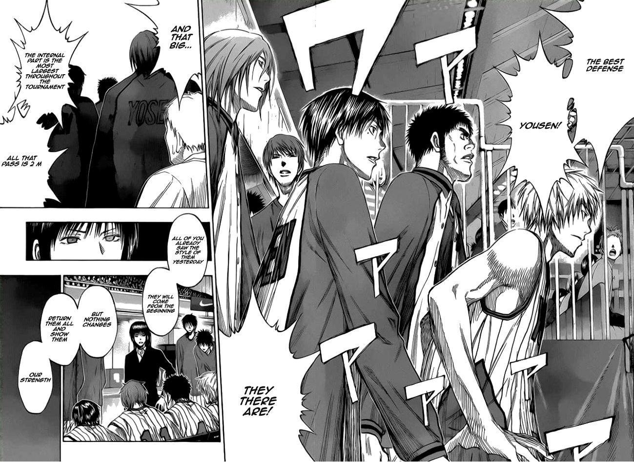 Kuroko no Basket Manga Chapter 145 - Image 10-11