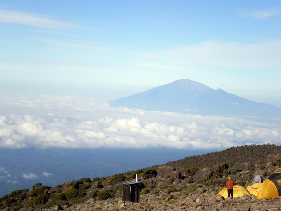 Kilimanjaro - Day 5 - Mt Meru to the West