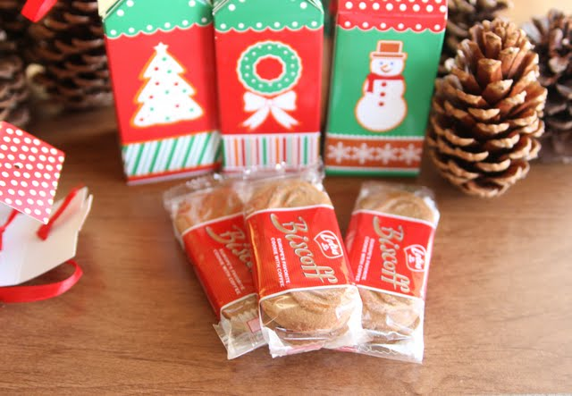 photo of packages of biscoff cookies