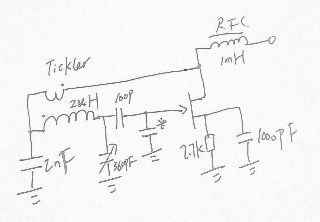 vfo  hybrid feedback oscillator
