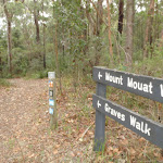 Signs at southern end of picnic area (227299)