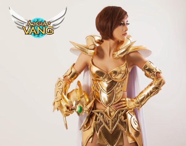Bộ cosplay cực chất của Áo Giáp Vàng lộ diện 3