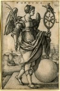 Roman Goddess Fortuna Image
