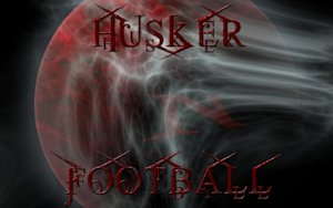 Nebraska Cornhuskers Husker Football Blood Moon